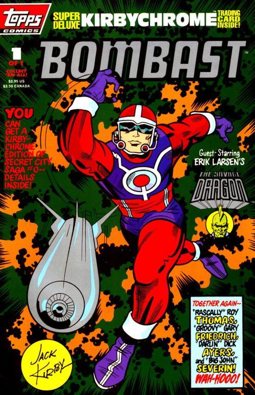 Jack Kirby s Bombast #1 - Page 1