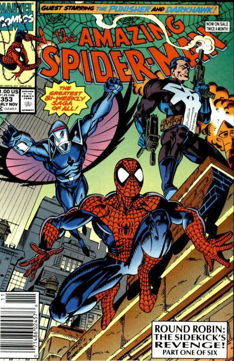 216 Amazing Spider-Man #353 - Page 1