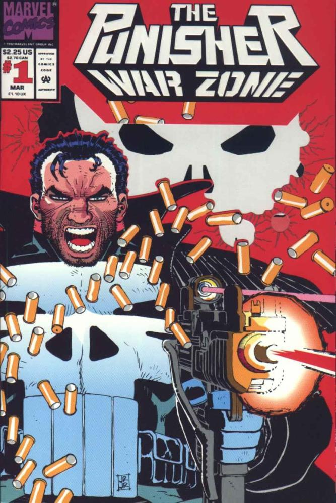 The Front Line is Everywhere- Punisher:  War Zone #1 (1/6)