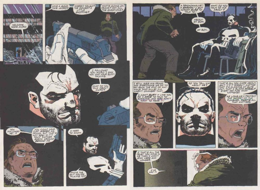 The Front Line is Everywhere- Punisher:  War Zone #1 (6/6)