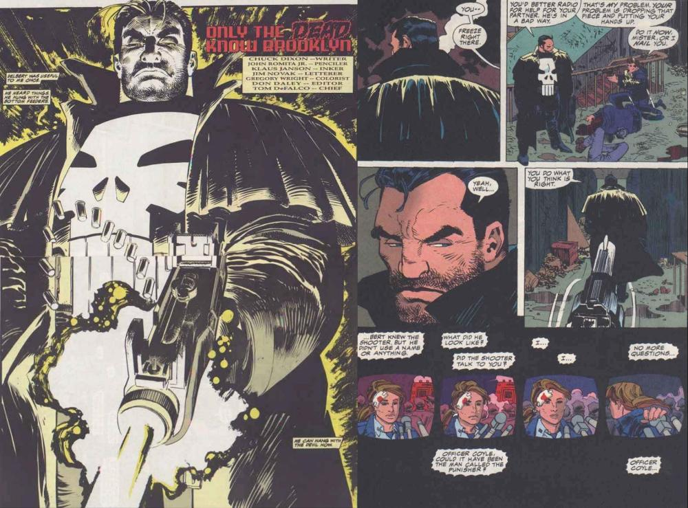 The Front Line is Everywhere- Punisher:  War Zone #1 (4/6)