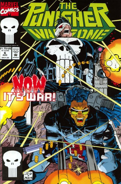 275 The Punisher War Zone #6 - Page 1