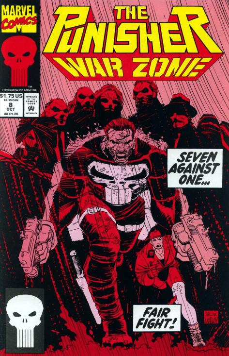291 The Punisher War Zone #8 - Page 1