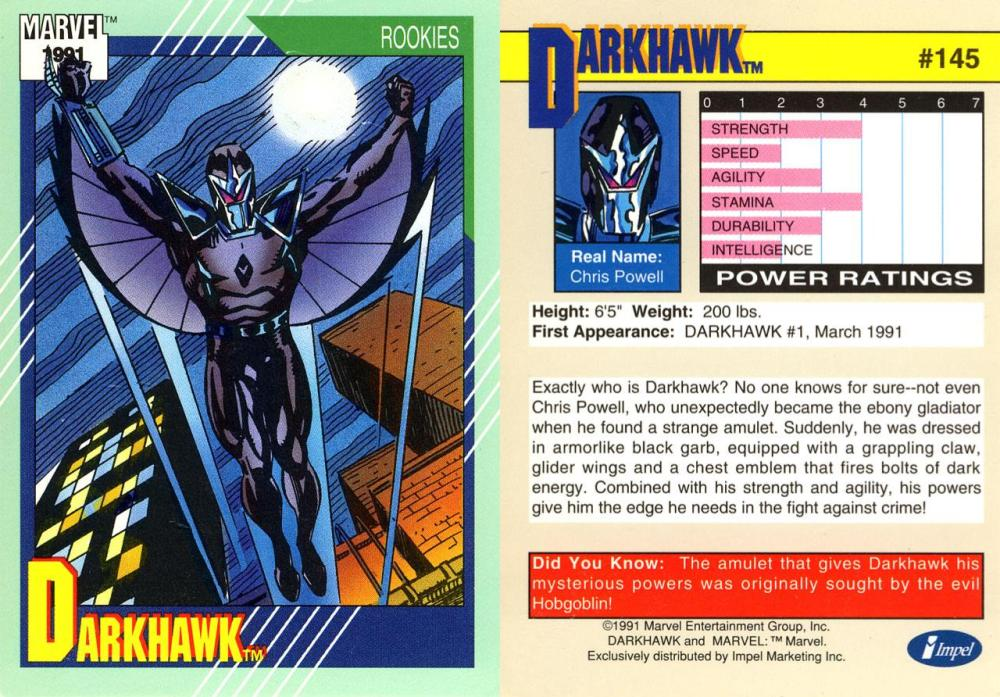 The Young, The Powerful, and the Confused-DARKHAWK!!! (1/6)