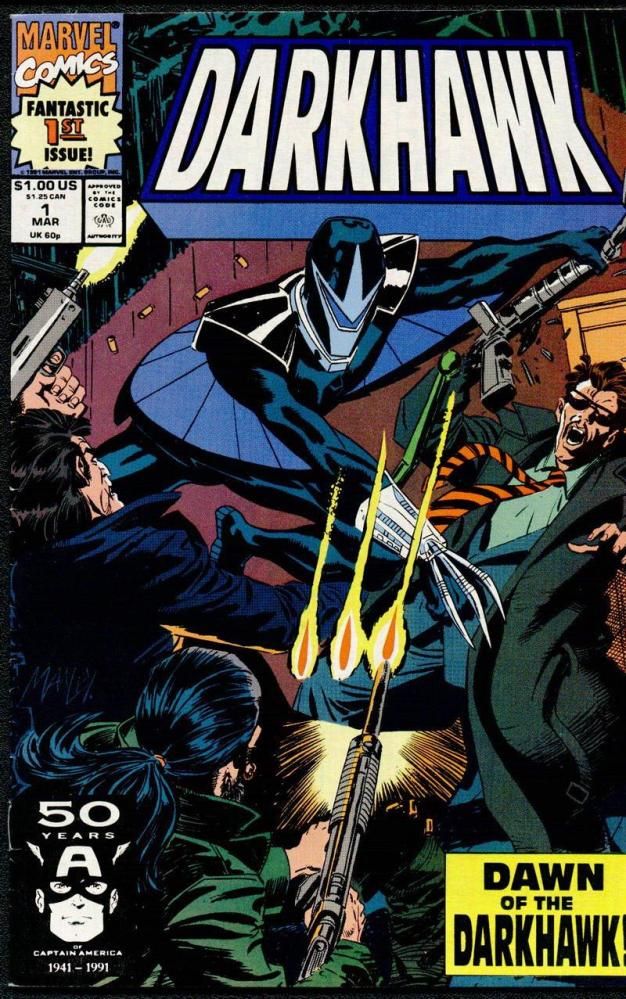 The Young, The Powerful, and the Confused-DARKHAWK!!! (2/6)