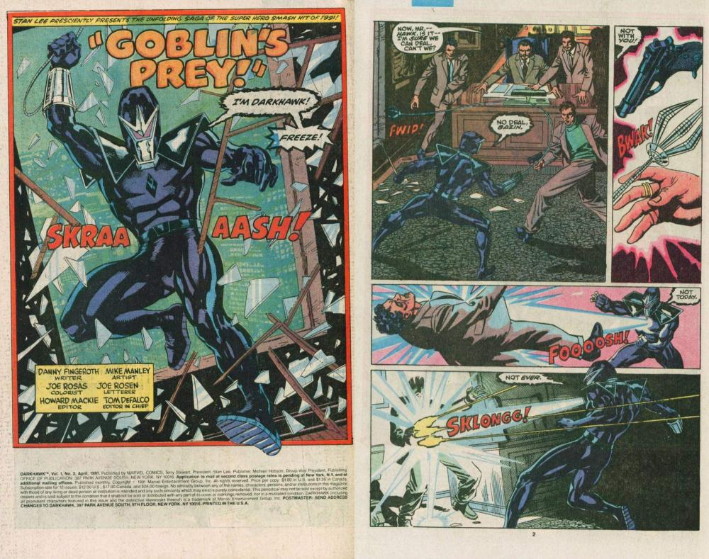 The Young, The Powerful, and the Confused-DARKHAWK!!! (3/6)