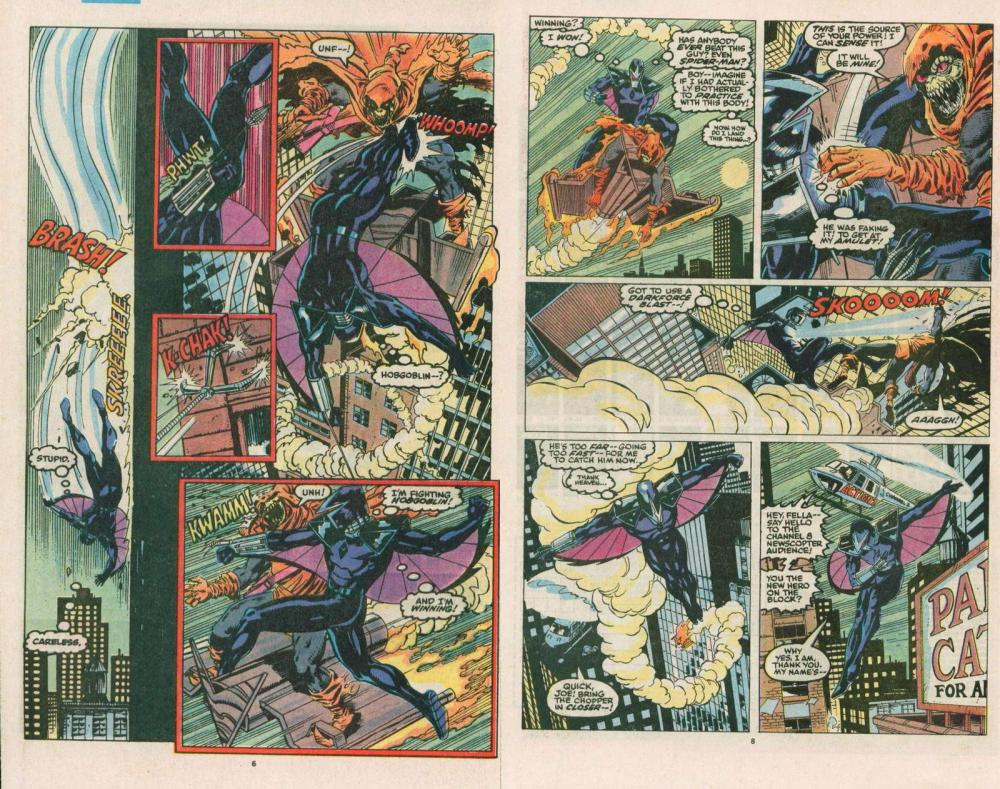 The Young, The Powerful, and the Confused-DARKHAWK!!! (4/6)