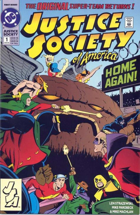 Maybe if Hawkgirl and Hawkman fly around that monster long enough they'll defeat it.