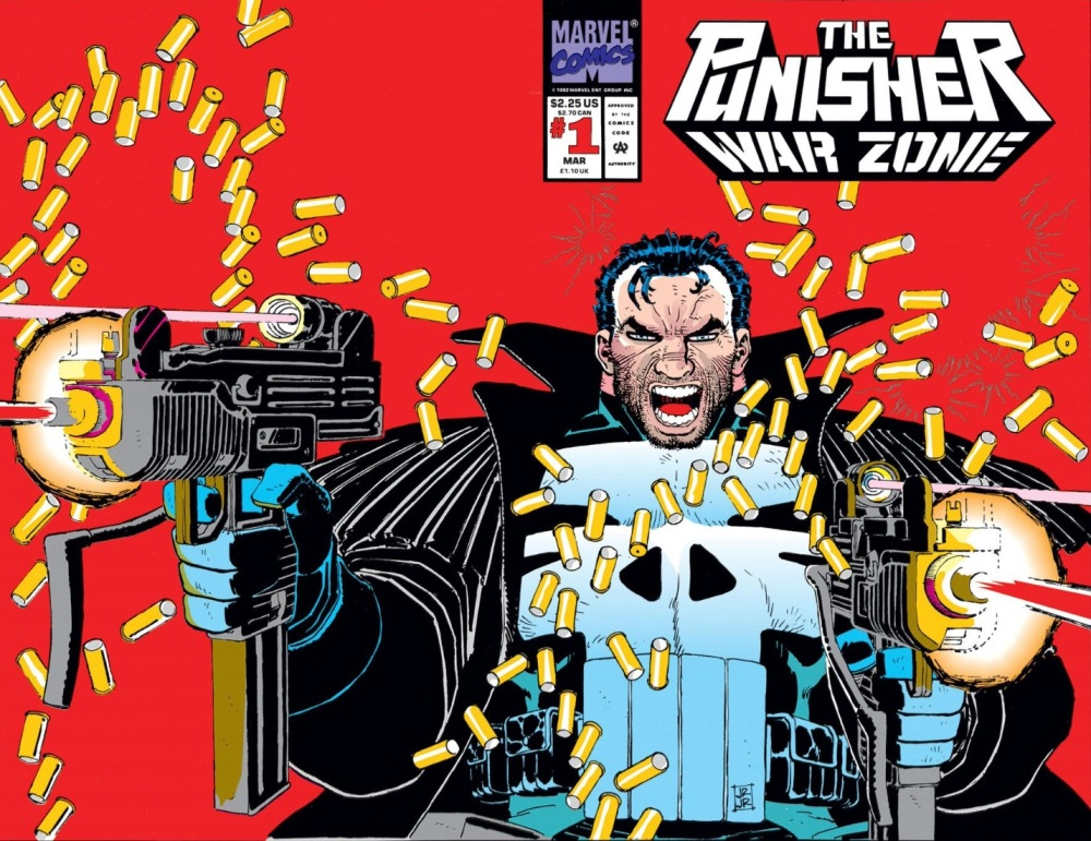 The Front Line is Everywhere- Punisher:  War Zone #1 (2/6)