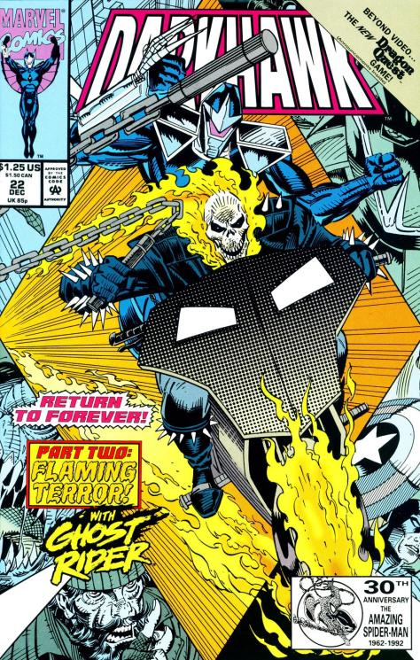 Return to Forever Pt2 - Flaming Vengeance   Ghost Rider #22 - Page 1
