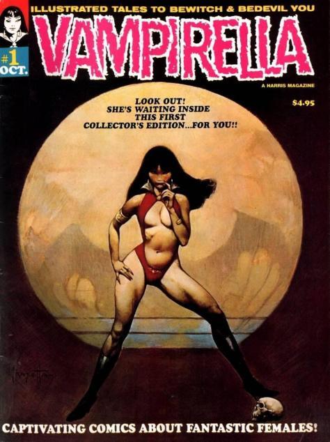 Vampirella #1 - Page 1