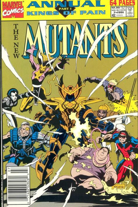 Annual 001 New Mutants #7 - Page 1