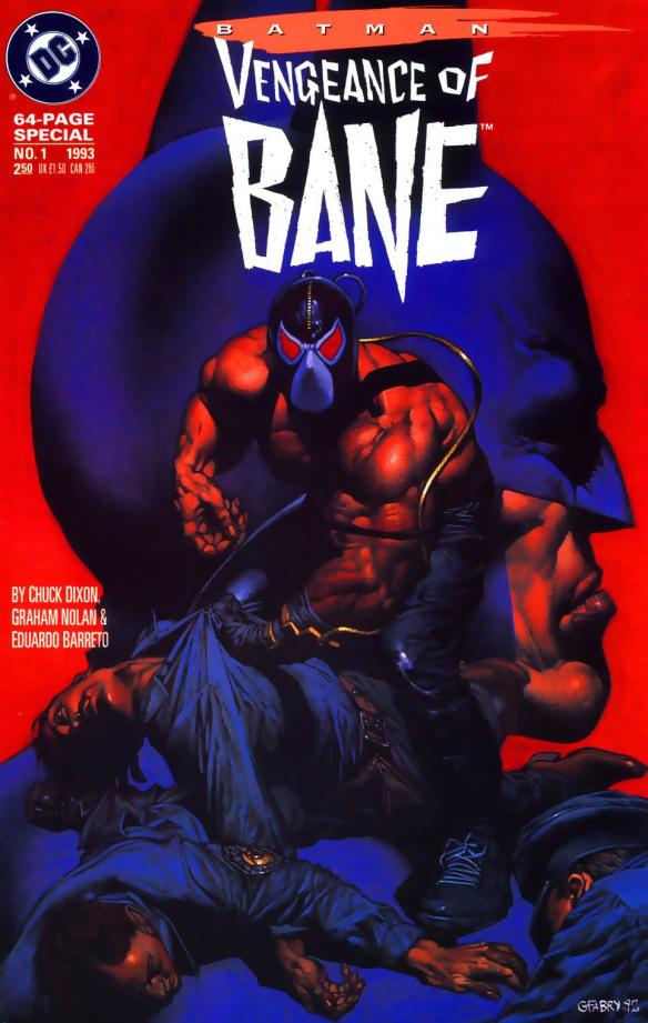 With the Venom tubes sticking out behind his head, Bane looks like a cross between a Luchadore and a Ghostbuster, two of the coolest things ever.