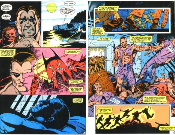 That vision Bane has of Batman would be a sweet Elseworlds Batman.
