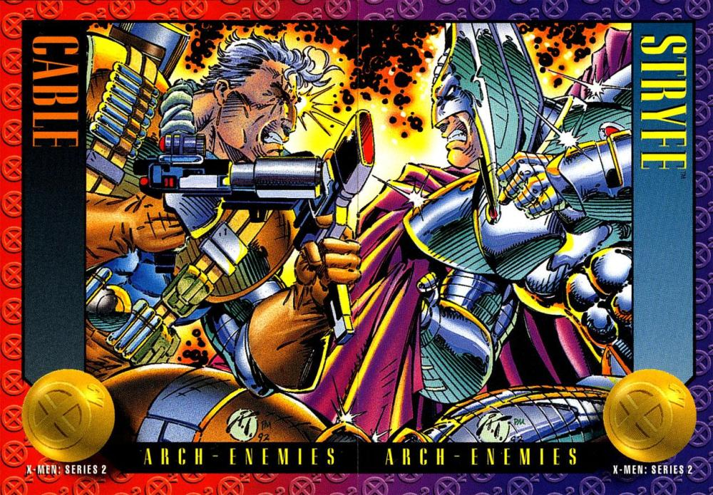 Friday Follow-Up!  X-Force Cards! (6/6)