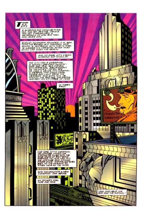 Starman V2 #0 (1994) - Page 2