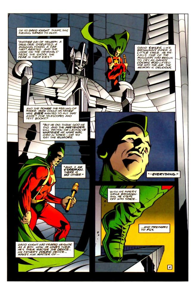 The Forgotten Son. Starman #0 by Angel Hayes (3/6)