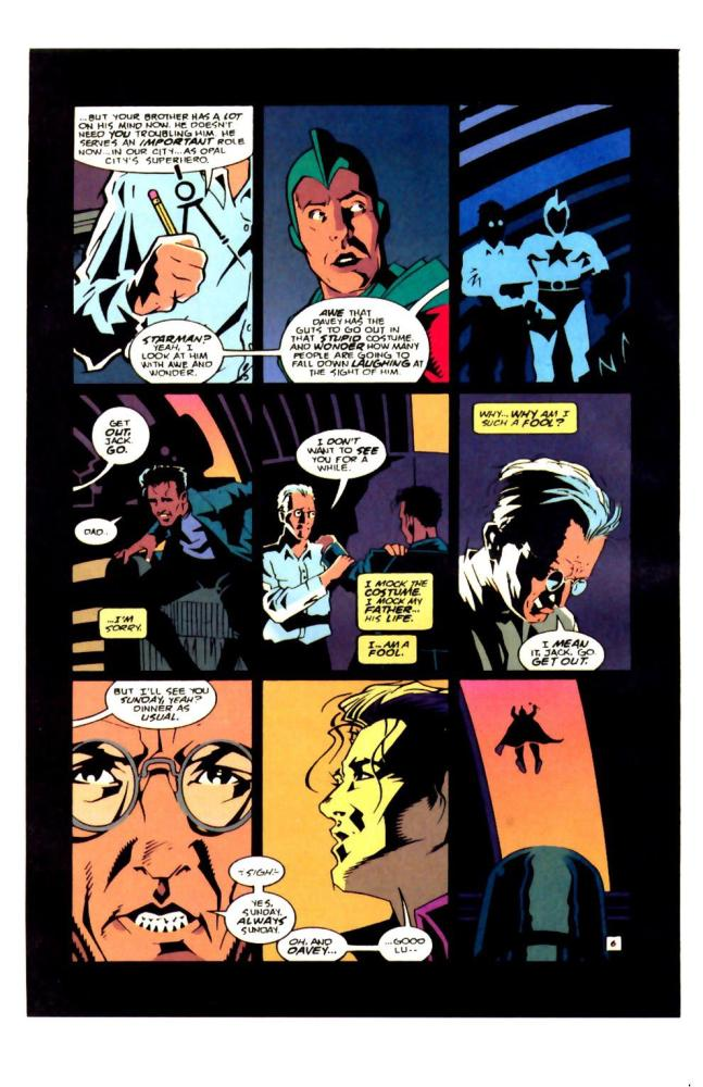 The Forgotten Son. Starman #0 by Angel Hayes (5/6)