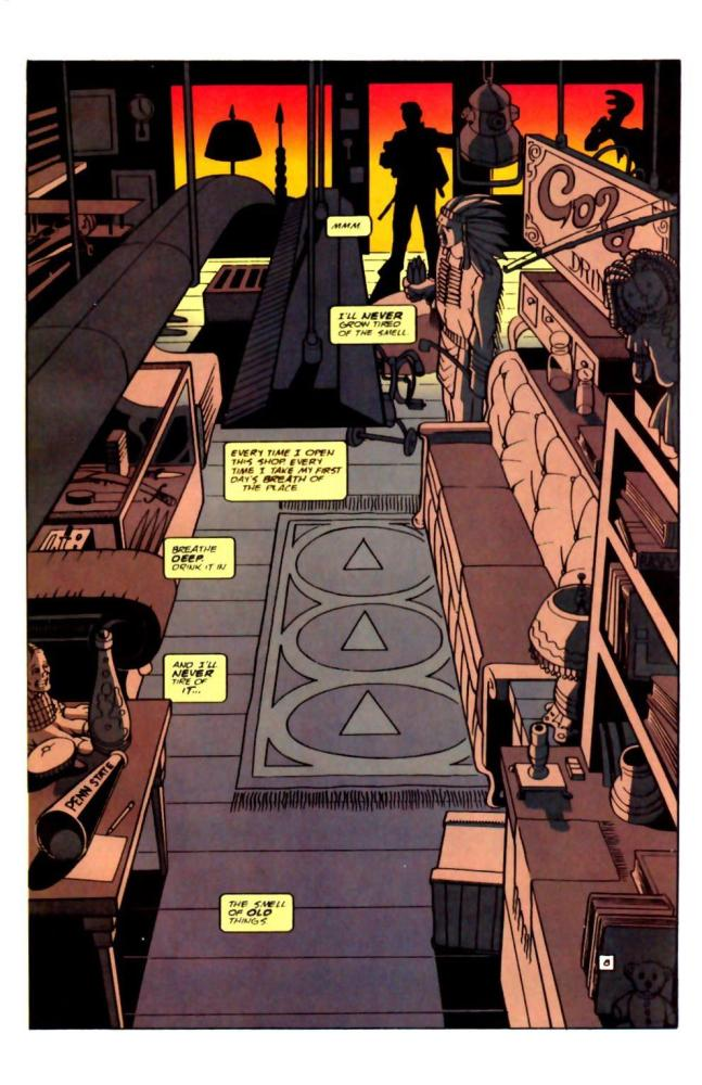 The Forgotten Son. Starman #0 by Angel Hayes (6/6)