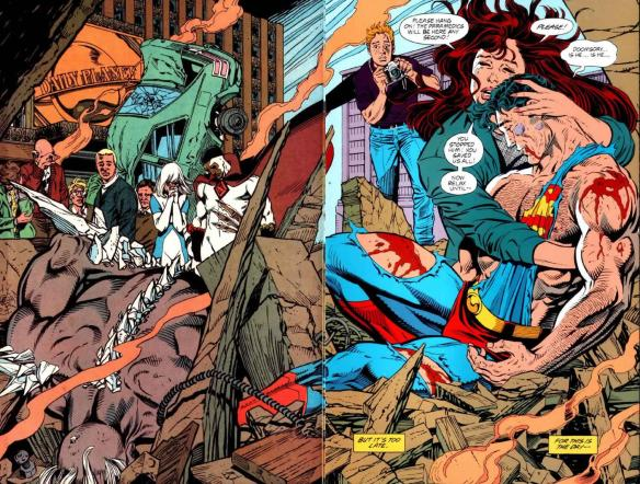 The Death and Return of Superman #1992 (1993) - Page 172