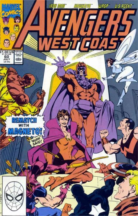 WestCoastAvengers #60 - Page 1