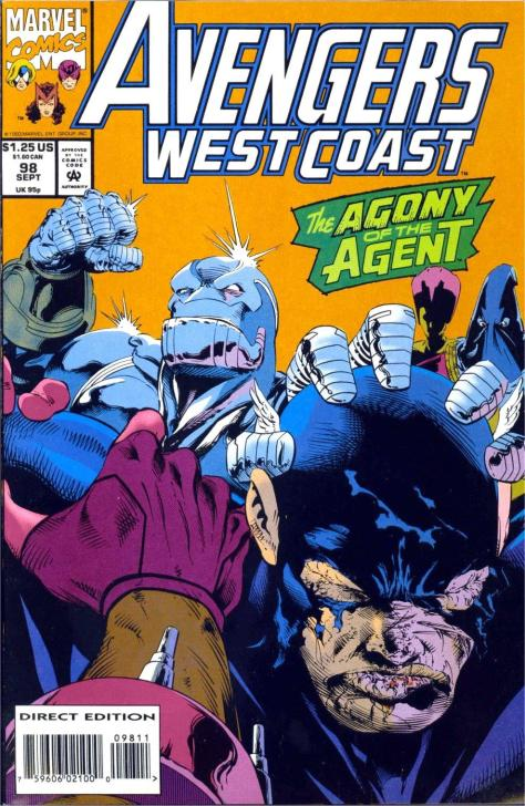 WestCoastAvengers #98 - Page 1
