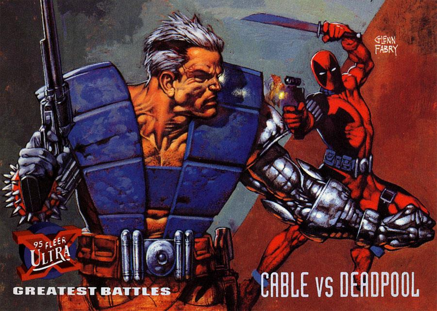 Friday Follow-Up!  X-Force Cards! (3/6)