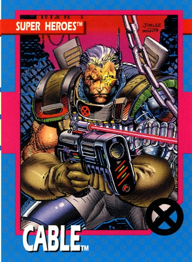 Friday Follow-Up!  X-Force Cards! (4/6)