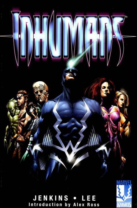 Inhumans V2 #1 - Page 1