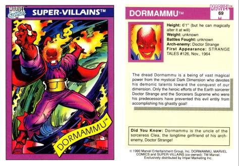 Marvel Universe Trading Cards - Series I (1990) - Page 137