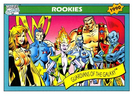 Marvel Universe Trading Cards - Series I (1990) - Page 167