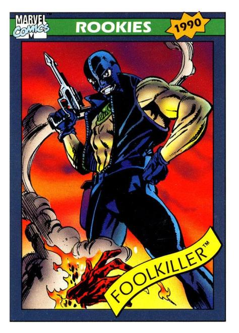 Marvel Universe Trading Cards - Series I (1990) - Page 173