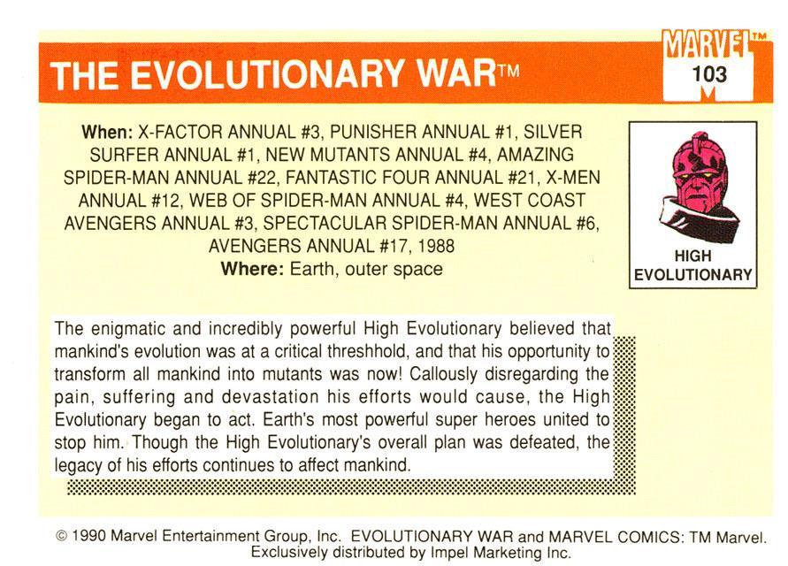 Marvel Trading Card Gallery! (6/6)