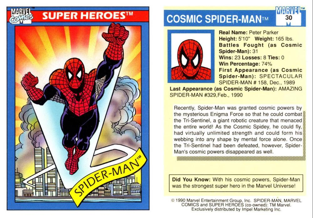 Marvel Trading Card Gallery! (1/6)