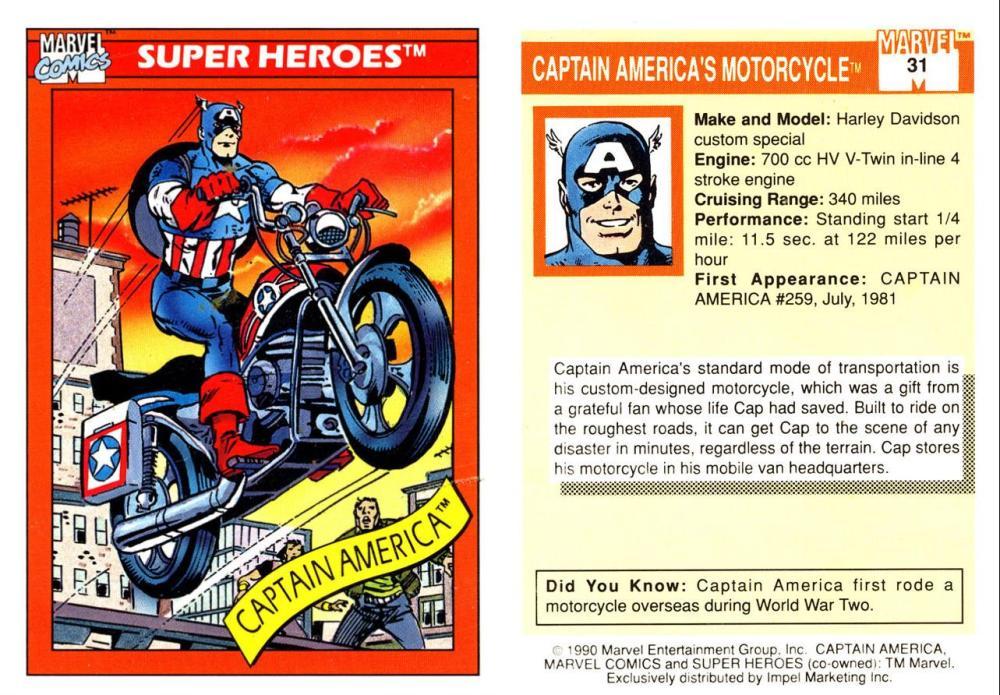 Marvel Trading Card Gallery! (2/6)