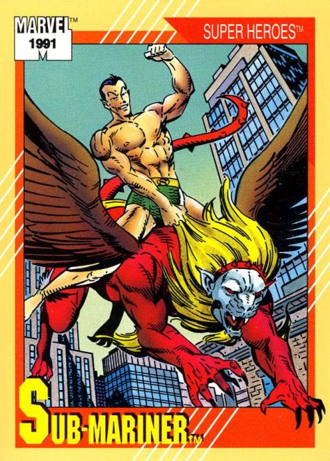 Marvel Universe Trading Cards - Series II (1991) - Page 11