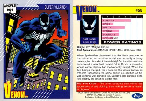 Marvel Universe Trading Cards - Series II (1991) - Page 115