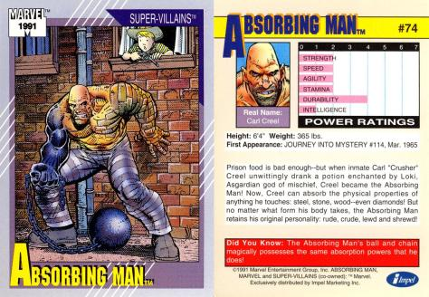 Marvel Universe Trading Cards - Series II (1991) - Page 147