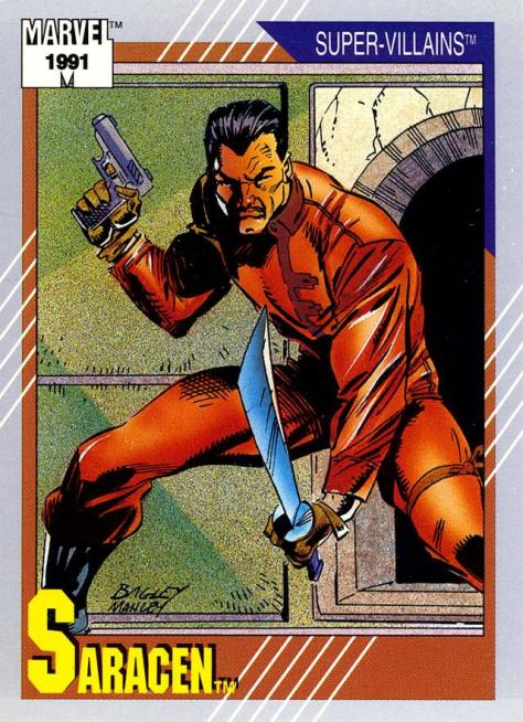 Marvel Universe Trading Cards - Series II (1991) - Page 153