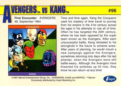 Marvel Universe Trading Cards - Series II (1991) - Page 192