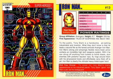 Marvel Universe Trading Cards - Series II (1991) - Page 25