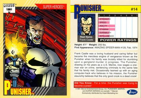 Marvel Universe Trading Cards - Series II (1991) - Page 27