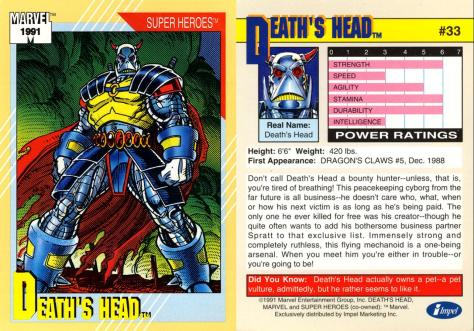 Marvel Universe Trading Cards - Series II (1991) - Page 65