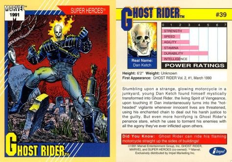 Marvel Universe Trading Cards - Series II (1991) - Page 77
