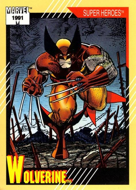 Marvel Universe Trading Cards - Series II (1991) - Page 99