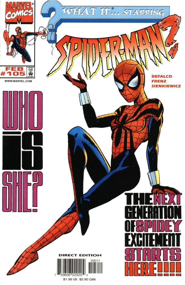The World You Have Always Known is Born-MC2 Part 1...SPIDER-GIRL!!! (2/6)