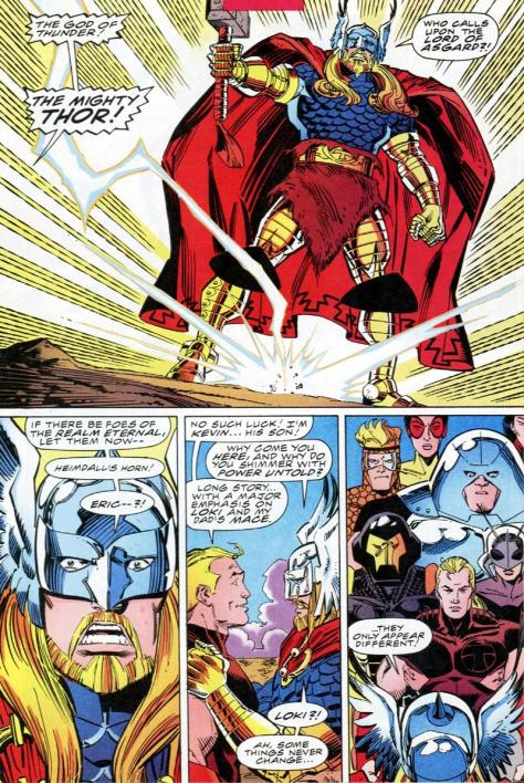 I love this Thor costume, and I have from the moment I saw Simonson's rendering of it.
