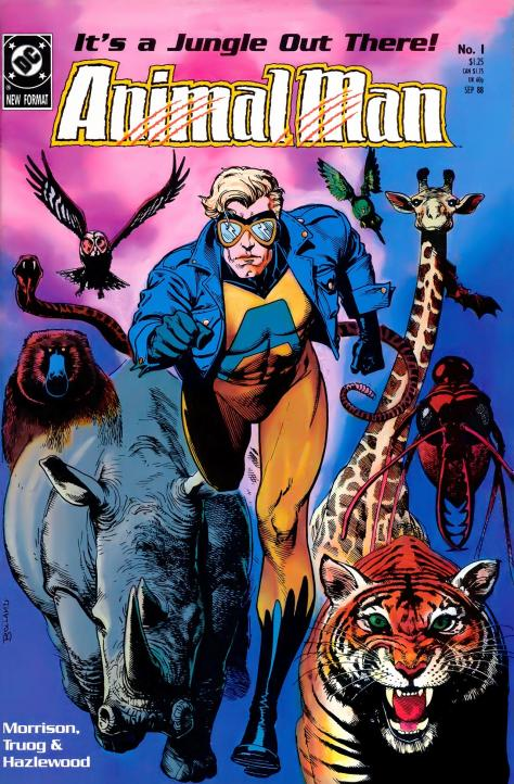 Animal Man #1 (1988) - Page 1