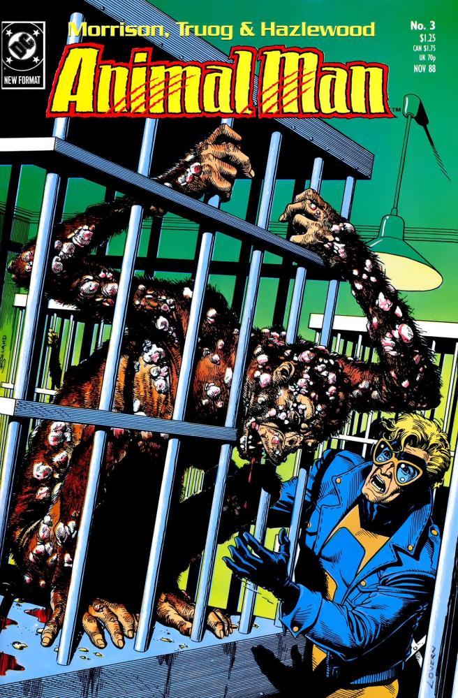 Evolve or Die: Animal Man Gallery. - Angel Hayes (2/4)