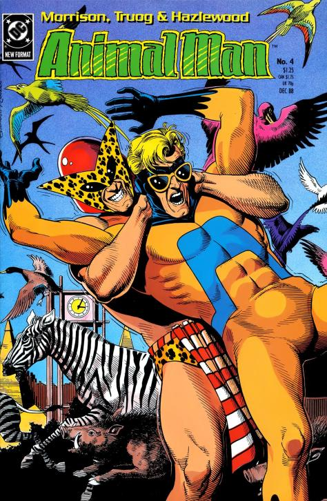 Animal Man #4 (1988) - Page 1